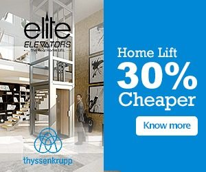 Why do we say that our home lifts are reasonably priced or cheaper ?